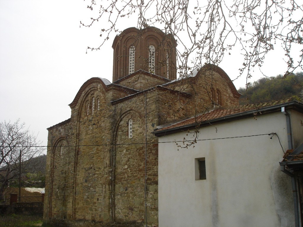 Старата црква Св. Стефан (Св. Богородица) во Конче изградена во 1366 г.