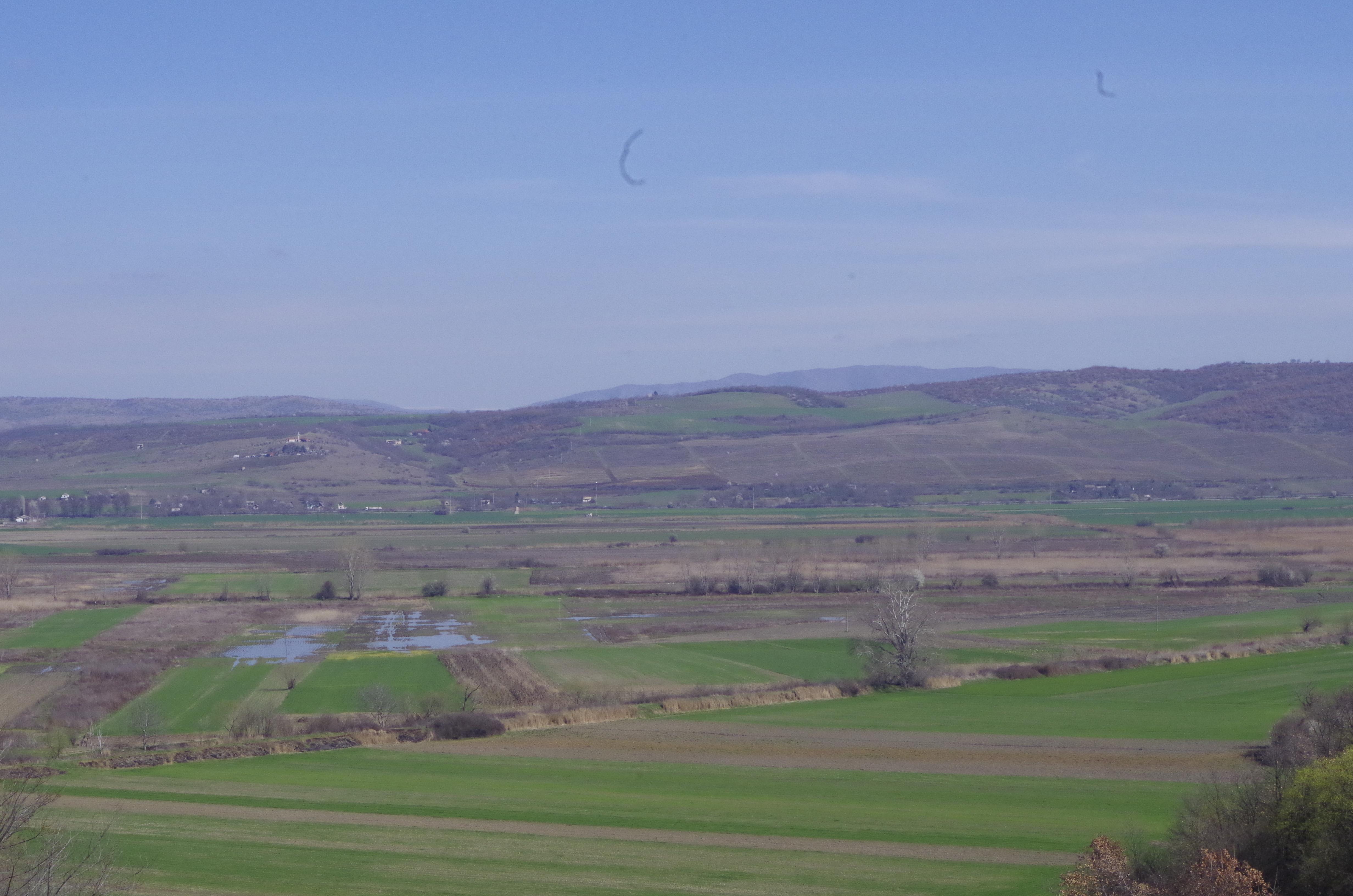 Плавено земјиште на местото на Катлановското Блато