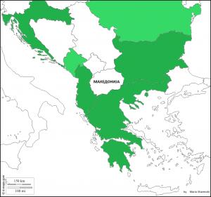 Приказ на Римленд (обрач) на Балканот