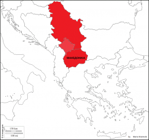 Приказ на Хартленд (стожер - срцевина) на Балканот